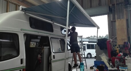 Fiamma Awning for motorhome
